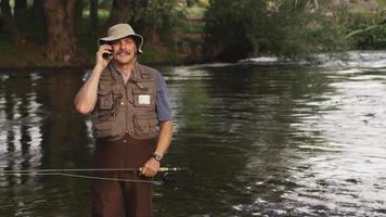 chiamare durante la pesca
