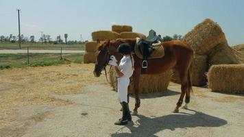 andar a cavalo video