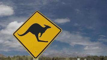 Kangaroo Sign HD 1080P BAD PREVIEW SHARP DOWNLOAD