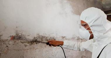 homem fazendo controle de pragas