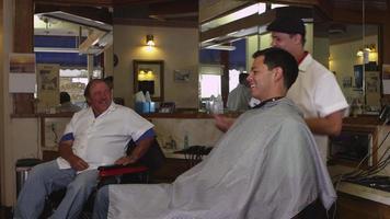 salon de coiffure parler