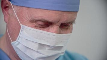 Experienced Senior Surgeon at Work video