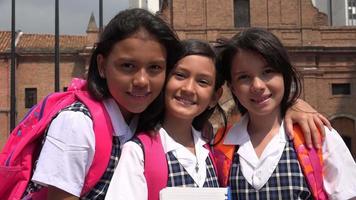 écoliers filles amis video