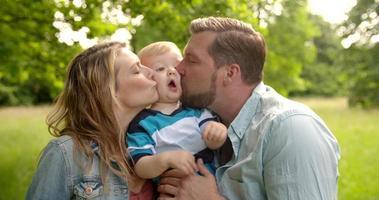 bacio di famiglia