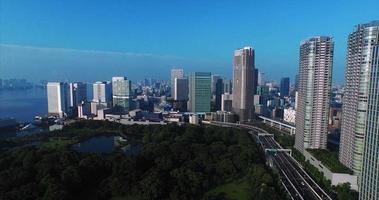 tokio japón tomas aéreas video