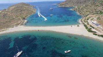 sobrevuelo aéreo, yates, waverunner - grecia video