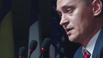 discurso em convenção política video
