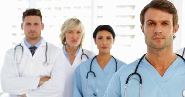 serieus medisch team