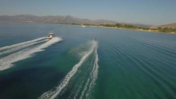 Wakeboarding In Summer Vacations video
