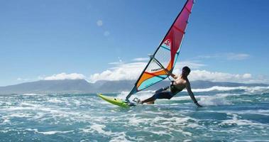 windsurf esporte extremo video