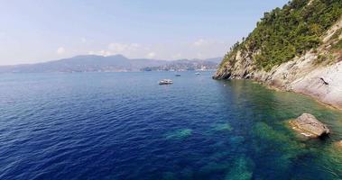 Antenne des Meeres und der Küste