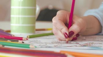 donna da colorare in adulto libro da colorare a casa