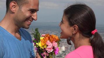homme et femme amoureux