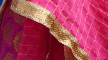 beau fond de robe indienne ornements