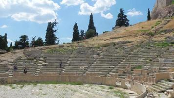 Amphitheater in Akropolis, Athen, Griechenland