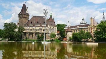 Castillo de Vajdahunyad, Budapest, Hungría