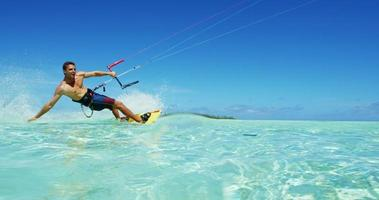 kiteboarding video
