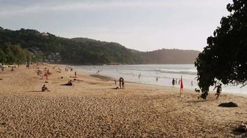 Urlaub, Meer und Strand. Thailand