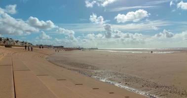 lasso di tempo della spiaggia dal lungomare