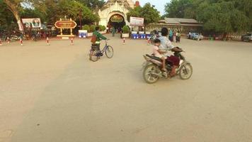 Eingang zum Ananda Phaya Tempel.