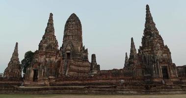 4k time lapse jour en nuit le temple de wat video