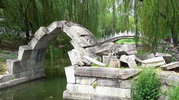 yuanmingyuan, o antigo palácio de verão, pequim, china
