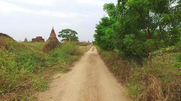 estrada rural bagan video