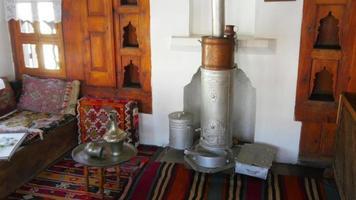mock up da vida tradicional da aldeia turca, safranbolu, turquia