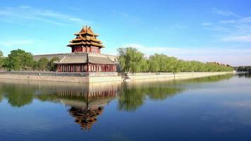 torre de canto em palácio imperial em pequim, china