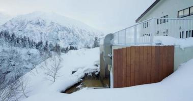 guest house giapponese vicolo sul retro video