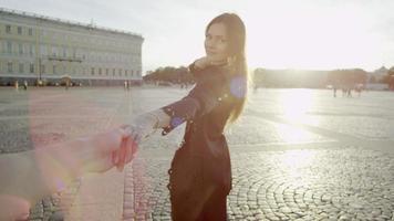 fotografo seguendo il modello video