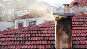 Vista del tradizionale villaggio anatolico ottomano, Safranbolu, Turchia