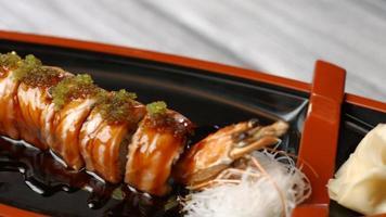 la cuisine japonaise à son meilleur. video
