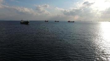 Meer und Schiffe