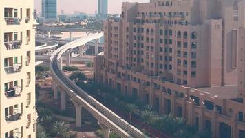 Laps de temps de la ligne de métro de Dubaï video