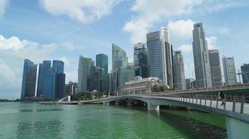 Timelapse Singapore city video