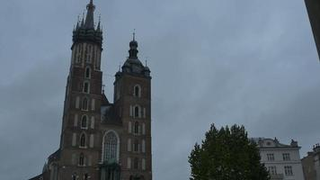 Basílica de Santa María en Cracovia video