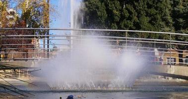 ponte della fontana della città di tarragona nella luce del sole 4K