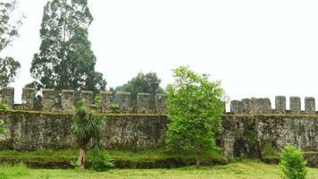 fortaleza gonio, batumi, georgia, fortificação de muralhas da época do castelo romano