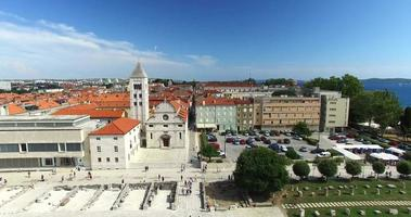 Saint Mary Kirche und Kloster in Zadar, Kroatien video