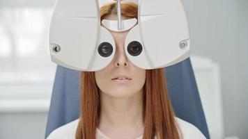visione di prova con attrezzature moderne video