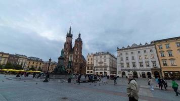 iper lasso di piazza del mercato di Cracovia