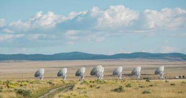 matriz de satélite de longe em lapso de tempo de calor video