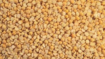 Dried yellow peas (Rotation) video