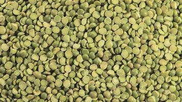 Dried green peas (Rotation) video