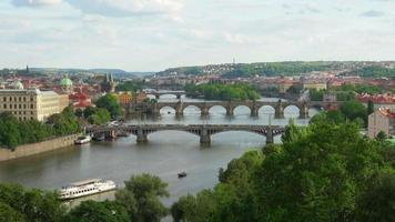 Charles Bridge und Castle View Prag