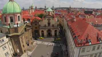 place de la vieille ville de prague république tchèque