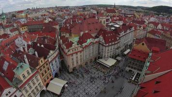 piazza della città vecchia di praga repubblica ceca