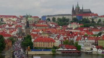praça da cidade velha de praga república checa