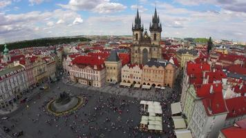 piazza della città vecchia di praga repubblica ceca video